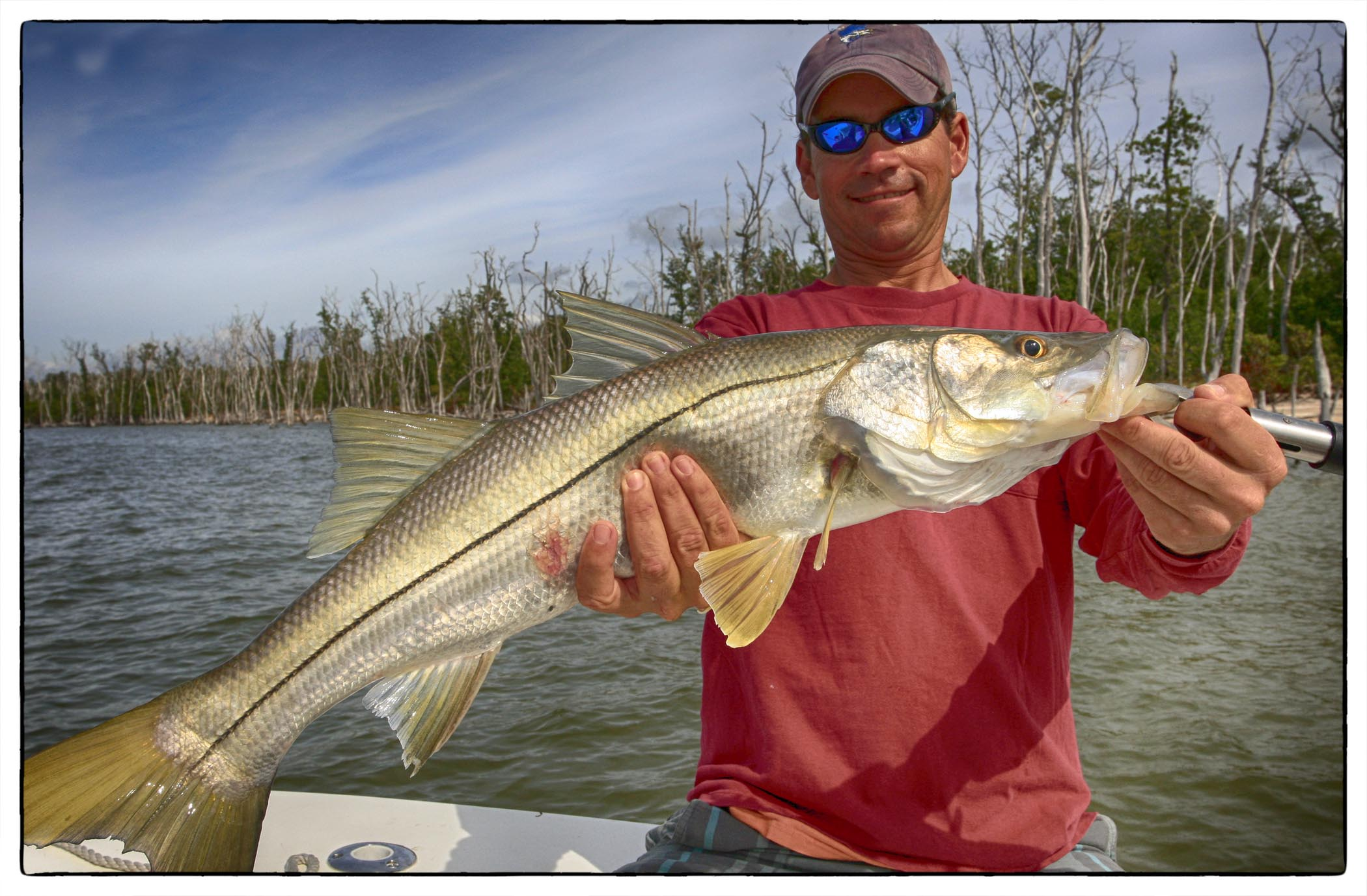 January islamorada flats fishing
